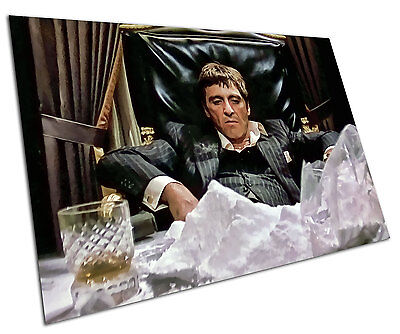 Scarface Wall Art Large A1 Poster 33 X 23 Inch