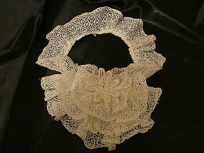 Vintage / Antique Ivory Lace Jabot or Cuff