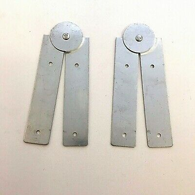Paste Board Hinges - 424 - Folding Pasting Table Hinge 240mm Zinc Plated Pair