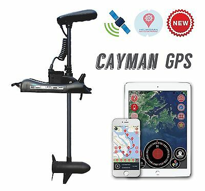 GPS HASWING 55 Lbs BOW MOUNT TROLLING MOTOR wireless hand remote+Quick Release P