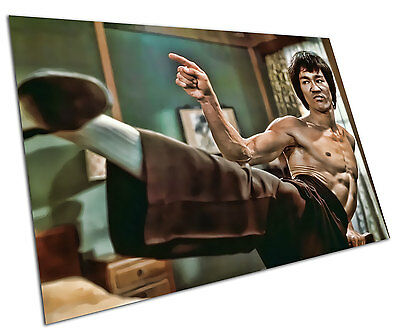 Sepia Bruce Lee Poster Wall Art Prints Home Decor Hollywood Movie Legend Pinup