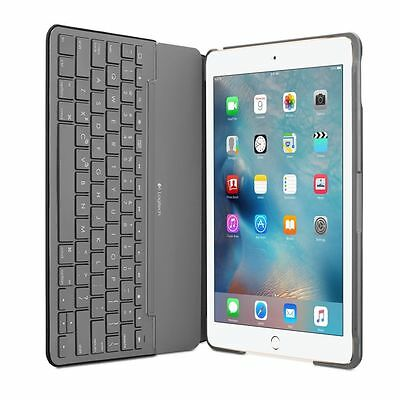 Logitech Canvas Wireless Bluetooth Keyboard Folio Case Apple iPad Air 2 - Black