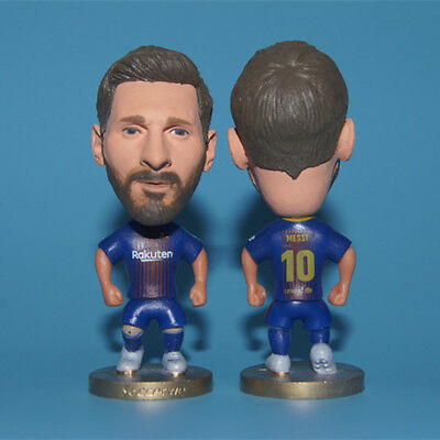 New Season FC Barcelona Soccer Player Football Star LIONEL MESSI Toy Figure Doll