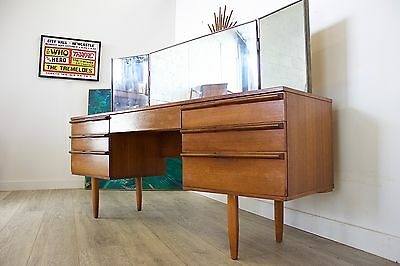 DELIVERY £50 Mid Century Retro Danish Style Avalon Desk Dressing Table