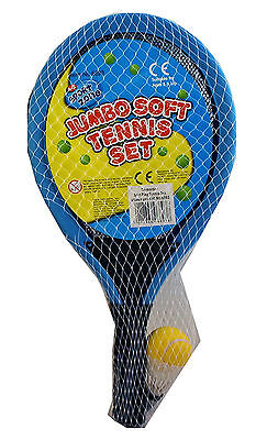 Jumbo Soft Tennis Set. Beach, park, holiday game. Fun for all the family.