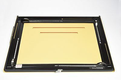 Saunders Professional 11x14 Enlarging Easel 4-Blade, MINT Condition