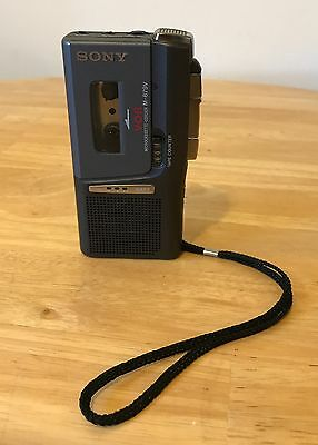 SONY M-679V Micro-Cassette Voice Activated Recorder, Tested Excellent Condition!