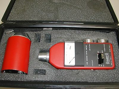 Quest 215 Sound Level Meter with CA-12 Calibrator Used Nice N6