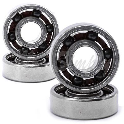 4x 608 Open Hand Fidget Spinner Hybrid Ceramic Deep Groove Ball Bearing 8x22x7mm