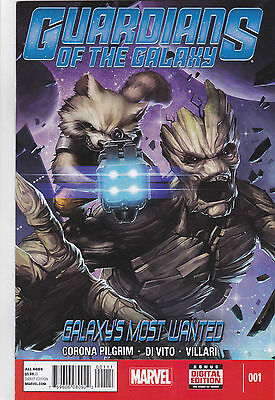Guardians of the Galaxy #1 Galaxy's Most Wanted, NM 1st Print, Marvel 2014