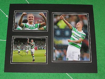 Leigh Griffiths Signed Glasgow Celtic FC 2016/17 Season Mount
