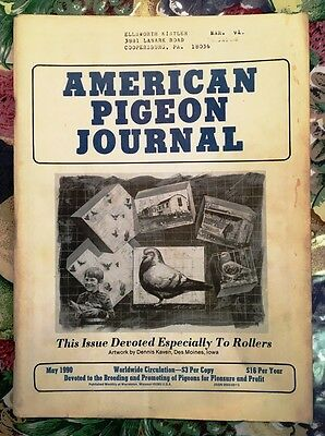 AMERICAN PIGEON JOURNAL - Roller Special - May 1990 - RARE !!!!