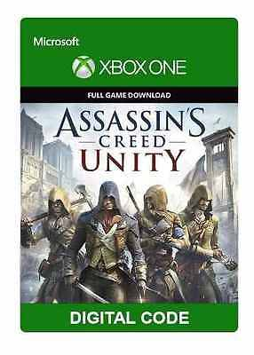Assassin's Creed Unity Xbox One Full Game Region Free Fast Code Delivery ID Req