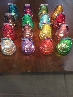 GLASS INSULATOR PENDANT LIGHTS - Vintage Hemingway Insulator Pendant Light