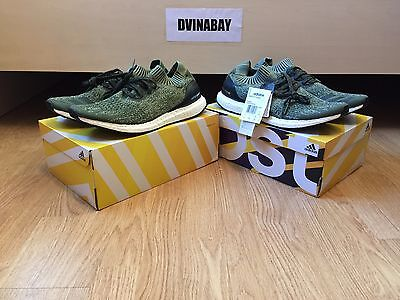 08f2a85f7 ADIDAS ULTRA BOOST Uncaged Color Base green Olive Tech Earth BB3901 ...