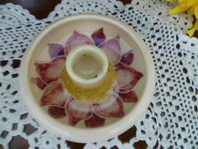 Australian Pottery  martin boyd candle holder 3 cm h x 9 cm wide small chip