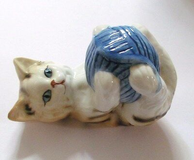 "Danbury Mint Cats Of Character  ""Roly Poly"" Fine Bone China Figurine"