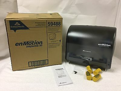 Automated Touchless Paper Towel Dispenser Georgia Pacific 59488 NEW with Key