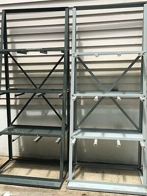 Vertical Material rack for holding raw material