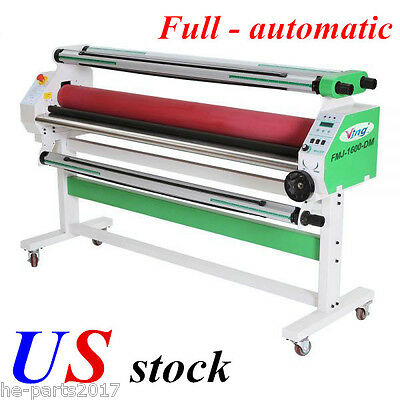 "US-110V 60"" Economical Full -auto Wide Format Cold Laminator, with Heat Assisted"