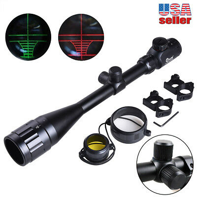 CVLIFE 8-32*50aoe Zoom R&G Rifle Scope Illuminated Optical Sniper For Hunting