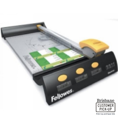 Fellowes A3 Electron Rotary Paper Trimmer 10 Sheets 5410501 *#