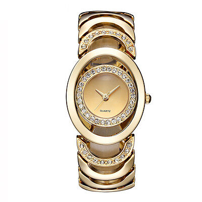 New Luxury Women Watch Gold Fashion Bracelet Watches Ladies Women Wristwatch