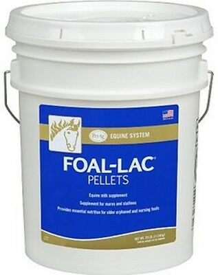 FOAL-LAC PELLETS 40 Lb. FRESH STOCK Mare's Milk Replacer for Orphaned Foals
