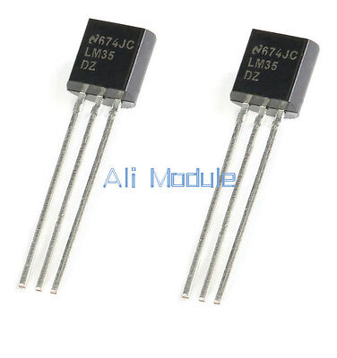 2PCS NEW LM35DZ LM35 TO-92 NSC TEMPERATURE SENSOR IC Inductor