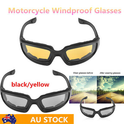 Motorcycle Glasses Windproof Dustproof Eye Glasses Goggles for Ooutdoor Hot BU