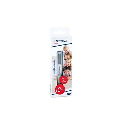 1x Thermoval rapid Digitales Fieberthermometer Thermometer 10 Sekunden