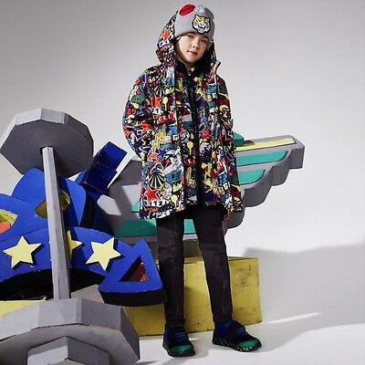 Stella Mccartney Kids Baby Boys Sticker Print Scout Jacket 18 Months