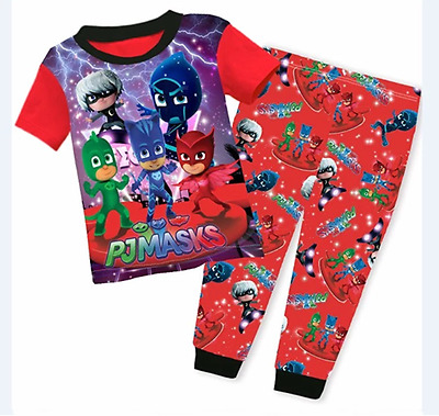 BNWT-Boys PJ Masks Catboy, Owlette and Gekko Pyjamas Sleepwear Many Sizes.