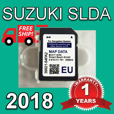 2017-2018 Suzuki Slda Bosch Sd Card Map Europe Sx4 S-Cross, Vitara, 990E0-54P33