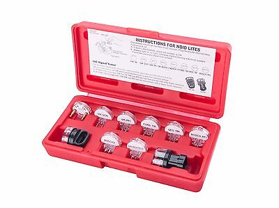 Fuel Injector Tester Noid Light Set  IAC  10 Piece Circuit Diagnostic Update Kit