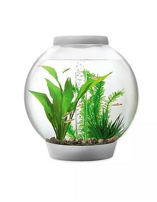 Biorb Baby 15 litre Silver with Standard LED Light Coldwater Fish Tank