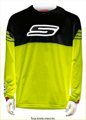 Maillot motocross S-Line jaune Fluo Taille XS