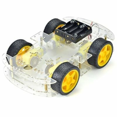 4-wheel Robot Smart Car Chassis Kits car with Speed Encoder for Arduino