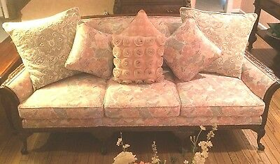 French Antique Queen Anne Couch