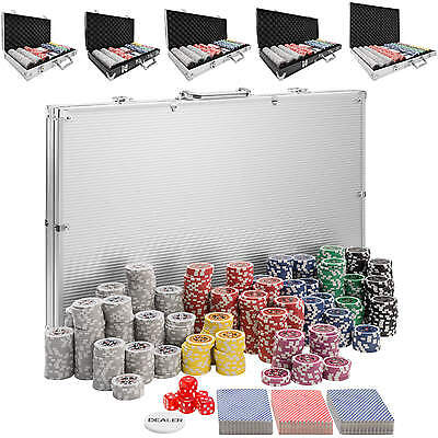 Pokerkoffer Pokerset Chips Laser Pokerchips Poker Set Alu Koffer Jetons