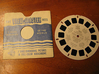 1950 Sawyer's Inc. Cisco Kid And Pancho View-Master Reel w/Sleeve