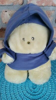 "1984 Animal Fair Chubbles  10"" Plush Toy Light Activated Chatters Vintage 1980s"