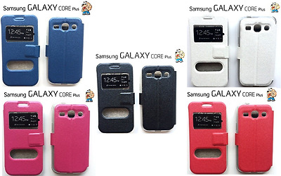 Flip Cover Custodia Case In Tpu Stand Per Samsung Galaxy Core Plus G350 Color