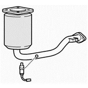 09//00-02//04 Approved Close Coupled Catalytic Converter for Citroen Saxo 1.6