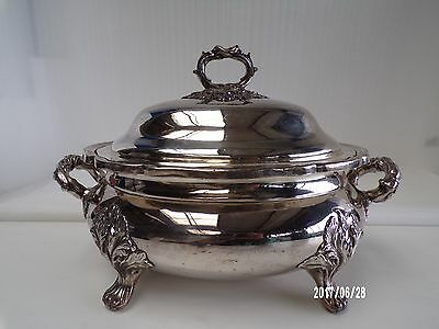 English, Georgian Old Sheffield Plate Tureen 1810-30