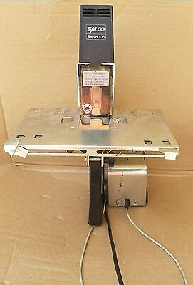 Salco Rapid 106 Electric Stapler Booklet Makerw Foot Pedal  isaberg A106