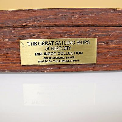 The great ships of history mini silver ingot collection