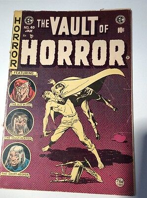 Vault Of Horror #  40 EC 1954