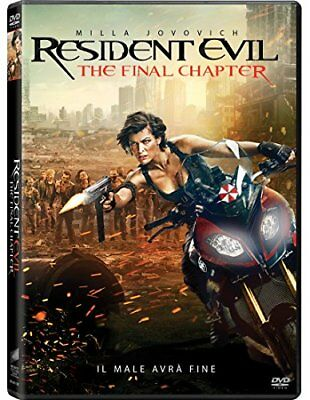 Resident Evil: The Final Chapter DVD SONY PICTURES