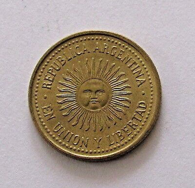 Argentina 5 Centavos 1993 - FREE DOMESTIC SHIPPING